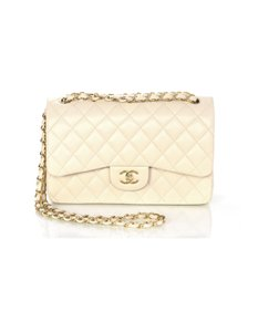 Chanel Double Flap Quilted Jumbo Shoulder Bag