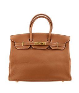 Hermès Birkin Satchel in Tan