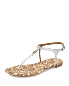Tory Burch silver - reverse metallic Sandals