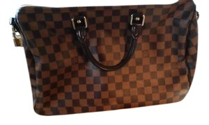 Louis Vuitton Speedy B 35 Speedy 35 Damier Canvas Shoulder Bag