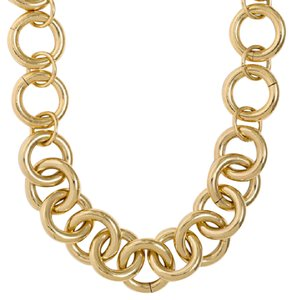 J.Crew Gold-Plated Chain Link Necklace