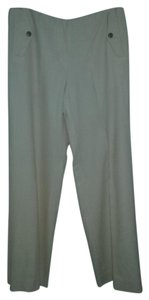 Ralph Lauren Wool. Lined Wide Leg Pants Cream