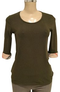 Burberry T Shirt OLIVE