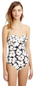 J.Crew Inky Floral Underwire One-Piece Swimsuit