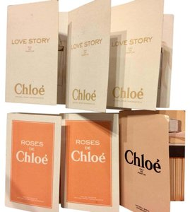 Chloé Lot of 6 Chloe Carded Sample/Travel Sizes NEW