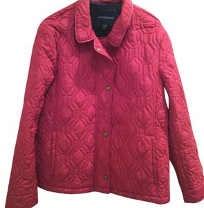 Lands' End Cranberry red. Jacket
