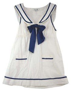 Forever 21 short dress White Sailor Nautical Cute Mini Summer on Tradesy