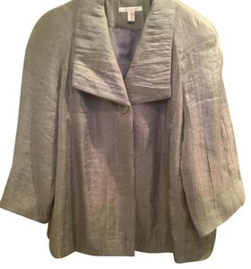 M Collection (Macy's) Top Metallic silver