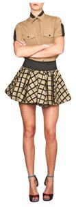 Rag & Bone Mini Skirt tan