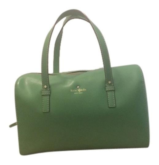 Preload https://item1.tradesy.com/images/kate-spade-stripes-summer-out-and-about-gold-new-york-trendy-chic-green-leather-shoulder-bag-2066420-0-0.jpg?width=440&height=440