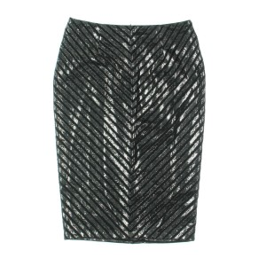 MINKPINK Sequin Mini Holiday Party Sparkle Mini Skirt Black