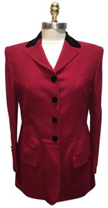 Moschino Couture Vintage red Blazer