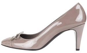 Chanel Taupe Pumps
