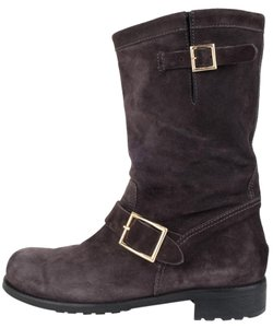 Jimmy Choo Charcoal Boots