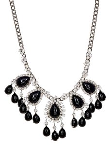 Kenneth Jay Lane Kenneth Jay Lane Crystal & Cabochon-Embellished Necklace