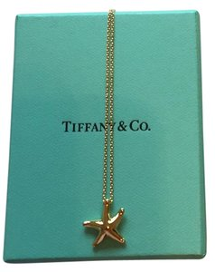 Tiffany & Co. Elsa Peretti 18k Gold Starfish Pendant