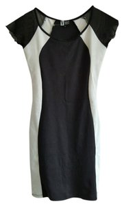 Vibe Sportwear short dress Black/ White on Tradesy