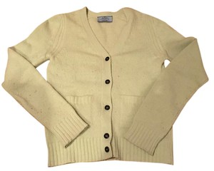 Prada Wool Green Buttons Cardigan