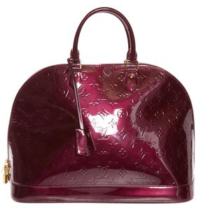Louis Vuitton Satchel in Purple Oxblood