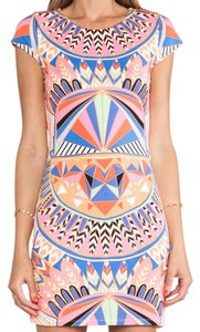 Mara Hoffman short dress Print Shift Sheath on Tradesy