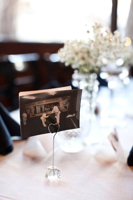Item - Silver Place Card/ Picture Holders