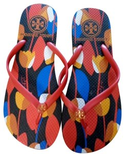 Tory Burch multi color Sandals