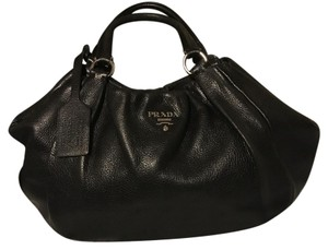 Prada Designer Handbag Blackhandbag Shoulder Bag