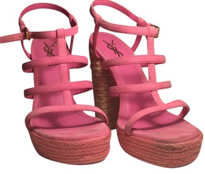 Saint Laurent Pink Sandals