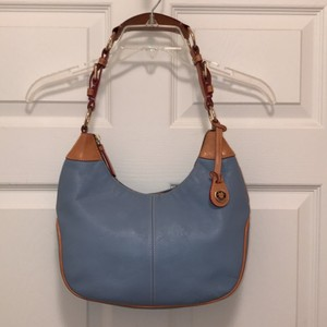 Dooney & Bourke Leather Hobo Handbag Shoulder Bag