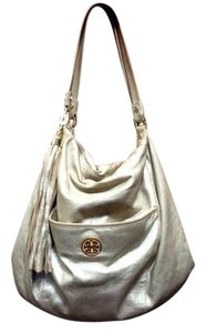 Tory Burch Metallic Accessory Handbag Hobo Bag