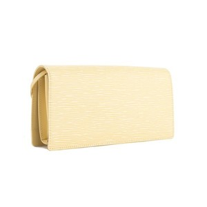 Louis Vuitton Creme Clutch