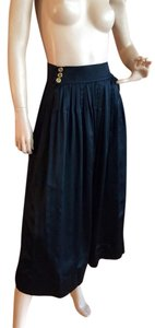 Chanel Maxi Skirt black