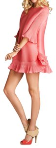 Nabisplace short dress Mini Pink Ruffle Cute on Tradesy