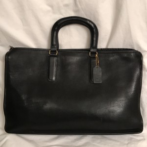 Coach Leather Vintage Briefcase Portpolio Laptop Bag
