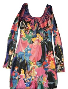 Blackmilk short dress Sleeping beauty print on Tradesy