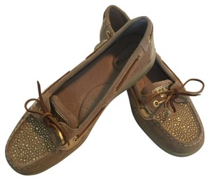 Sperry Gold, Tan, Brown, Yellow Flats