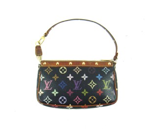 Louis Vuitton Pochette Black Clutch