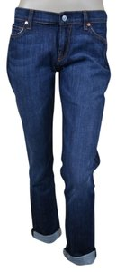 7 For All Mankind 7fam Roxanne Nyd Straight Leg Jeans-Medium Wash