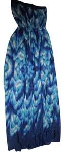 Blue Maxi Dress by Lavender Brown