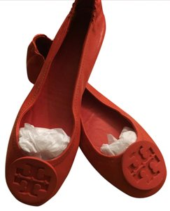 Tory Burch Poppy Red Flats