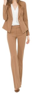 White House | Black Market Heathered Brown Pant Suit