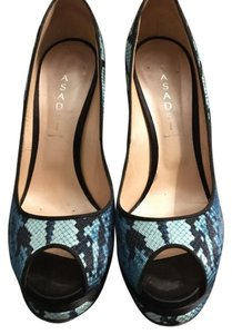 Casadei Blue Platforms