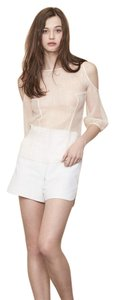 Maje Off Spring Chic Parisian Top ivory