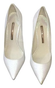 Sophia Webster white with silver sparkles Formal