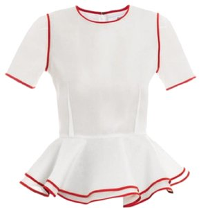 Prabal Gurung Top white & red