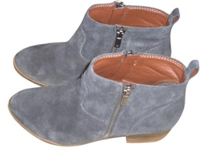 Lucky Brand Leather TAUPE Boots
