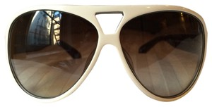 Marc by Marc Jacobs MARC By marc Jacobs White Aviators