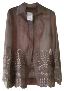 Gianfranco Ferre Top Stone brown