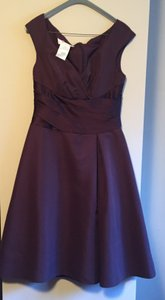 David's Bridal Truffle (chocolate Brown) F12723 Dress