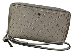 Tory Burch Wristlet in French Grey